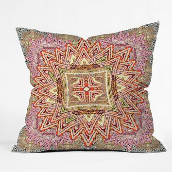 Ingrid Padilla Boho Vintage Throw Pillow
