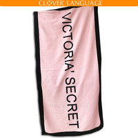 Pink Bath Towel Beach Towel Washcloth Swimwear Shower Victoria Brand VS Secret Pink Beach Towel Best Gift Free Shipping