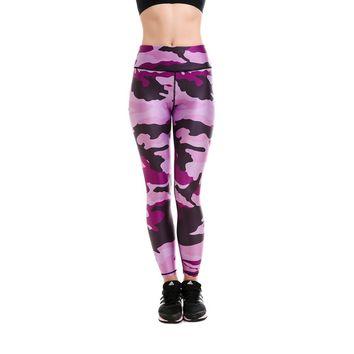 LOVE SPARK Pink Camouflage 4xl Plus Size Fast Dry Yoga Sports Pants S To 4xL Fitness Dance Running Workout Leggins Plus Size