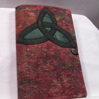 Celtic Knot Quilted Notebook and Card Holder