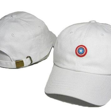 Day-First™ Captain America Embroidered Baseball Cap Hat