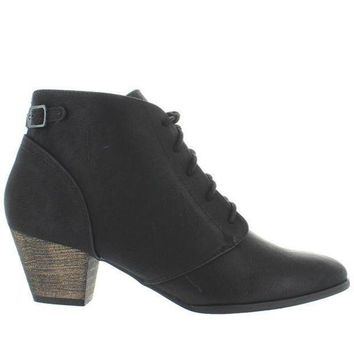 Chelsea Crew Lord   Black Lace Up Bootie
