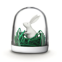 Bunny In The Field Paperclip Holder
