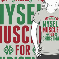 Giving Myself Muscles For Christmas by printproxy