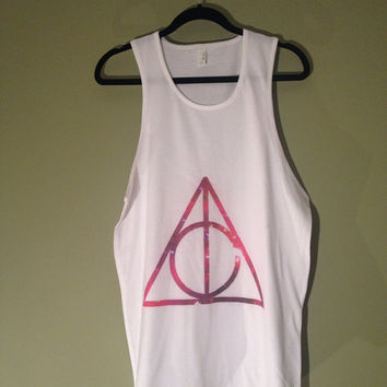 Deathly Hallows HARRY POTTER Tank Top Shirt Unisex 057