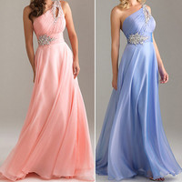 Beaded Lady Bridal Gown Dress Bridesmaid Formal Party Evening Cocktail Prom Ball