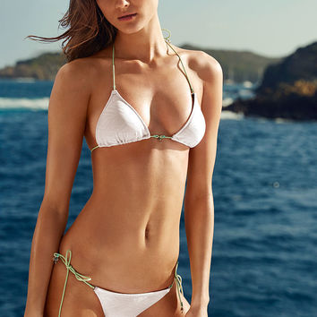 The Embossed Teeny Triangle Top - Beach Sexy - Victoria's Secret