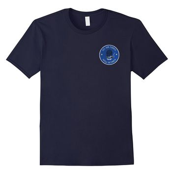 AIR FORCE MASTER SERGEANT RETIRED DISTRESSED T-SHIRT