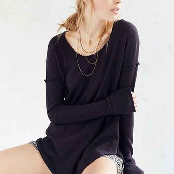 Truly Madly Deeply Roxy Long Sleeve Tee