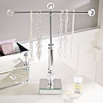 Mirrored Necklace Holder