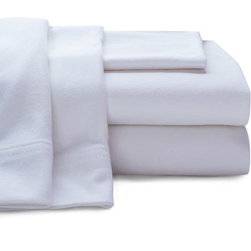 Walmart: Super Soft Jersey Sheet Set, White