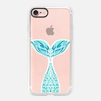 Aqua Blue Mermaid iPhone 7 Case by Lisa Argyropoulos | Casetify