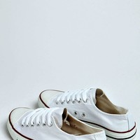 Cady Canvas Lace Up Trainers
