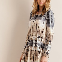 Ripple Effect Dress - Tie Dye