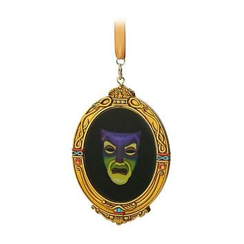 Disney Parks Evil Queen Mirror Christmas Ornament New with Tags