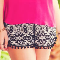 CATALIA PRINTED SHORTS