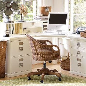 Bedford Corner Desk Set | Pottery Barn