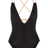 Solid and Striped - The Alexandra two-tone swimsuit