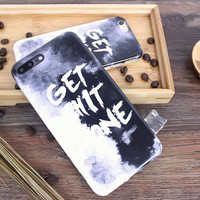 Retro Tie-dyed Case for iPhone 7 7Plus iPhone se 5s 6 6 Plus Best Protection Cover +Gift Box