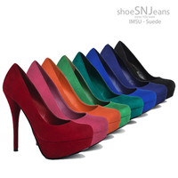 Women Party Prom Dress Pump High Heel Platform Stiletto Shoes Delicious Jones