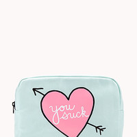 Quirky Midsize Cosmetic Bag