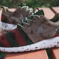 Nike Roshe Run One Freddy Krueger Dunk SB Custom