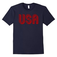 Fourth of July 4th USA T-Shirt American Patriotic Party Tee
