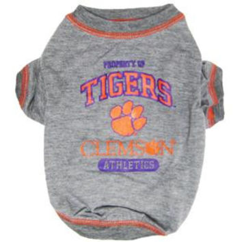 Clemson Tigers Pet Shirt MD