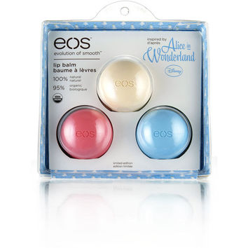 Walmart: eos Alice in Wonderland Lip Balm, 3 count