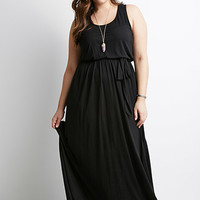 Self-Tie Maxi Dress