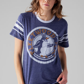 TRUNK LTD Fleetwood Mac Penguin Tee in Navy