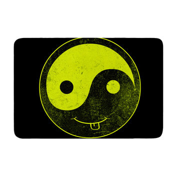 "Frederic Levy-Hadida ""Bad Ass Ying Yang"" Memory Foam Bath Mat"