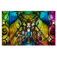 "Mandie Manzano ""Wizard of Oz"" Fantasy Decorative Door Mat"