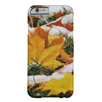 Autumn Snow Barely There iPhone 6 Case