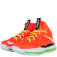 Nike - Kids Shoes - Grade School - Nike Kids Lebron X Team Alternate Grade School - Total Crimson Fiberglass Black Volt - DTLR - Down Town Locker Room. Your Fashion, Your Lifestyle! Shop Sneakers, Boots, Basketball shoes and more from Nike, Jordan, Timberl
