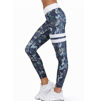 High Waist Compression Women Athletic Leggings