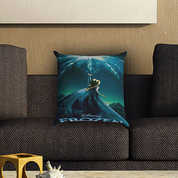 Disney Frozen Pillow Cover , Custom Zippered Pillow Case One Side Two SIde
