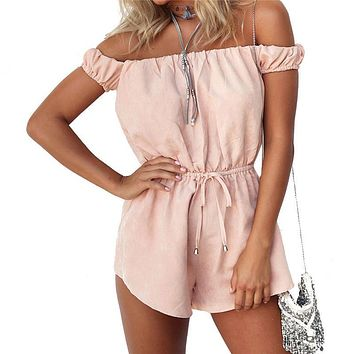 Sexy Rompers Womens bodycon Fitness Jumpsuit 2017 Summer Playsuit Elegant Shorts Bodysuit Overalls Plus Size Body Suits Femme
