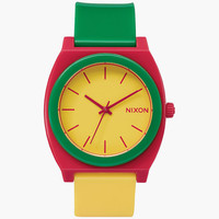 Nixon Time Teller P Watch Rasta One Size For Men 25997094701