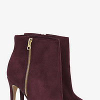 PEEP TOE HEELED BOOTIE from EXPRESS