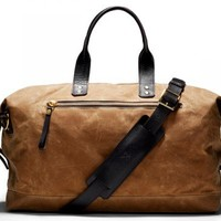 Bedford Wax Overnight Bag - Ernest Alexander