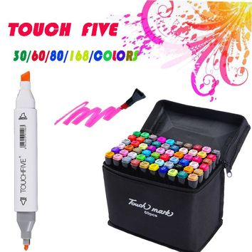 painting art mark pen Alcohol paint Marker pen manga cartoon graffiti sketch Double Headed Art copic markers set designers posca