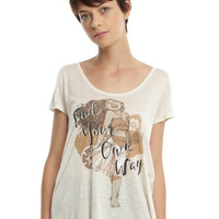 Disney Moana Find Your Own Way Girls Top