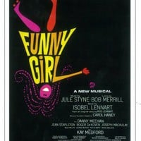 Funny Girl 11x17 Broadway Show Poster (1964)