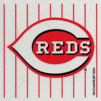 Cincinnati Reds - Logo Reflective Decal