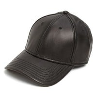 Men's Gents Leather Baseball Cap