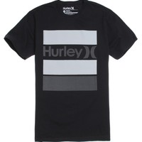 Hurley Brick T-Shirt - Mens Tee - Black