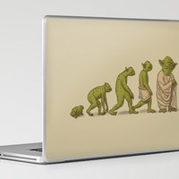 Yodalution Laptop & iPad Skin by Terry Fan | Society6