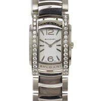 Bulgari 18k White Gold and Diamond Assioma Watch Ref: AAW31WGD1G