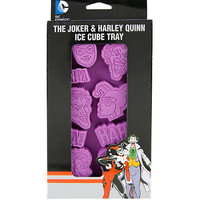 DC Comics Batman The Joker & Harley Quinn Ice Cube Tray